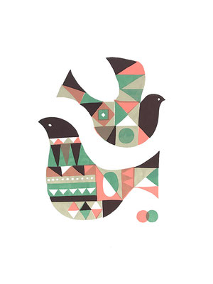 BirdA_1 (シルクスクリーン印刷)