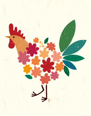 Bird of bouquet