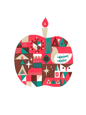 Candle (シルクスクリーン印刷)