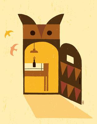 Door of owl
