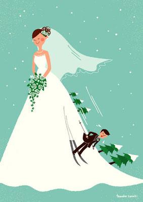 ゲレンデの花嫁