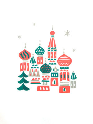 Russia(シルクスクリーン印刷)