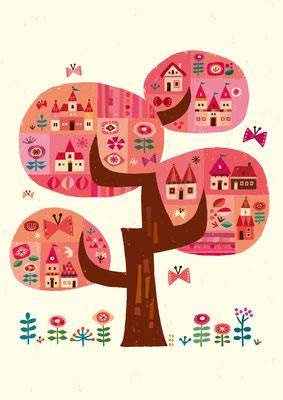 樹「仲春」
