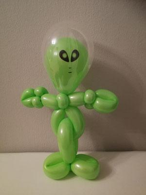 Außerirdischer Ballonfigur NRW