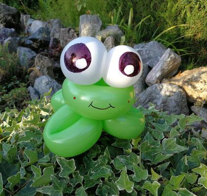 Ballontier Frosch