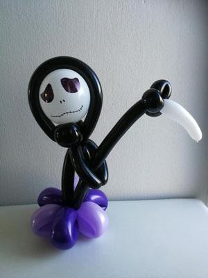Skelett Ballon Halloween