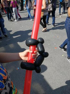 Laserschwert Ballon