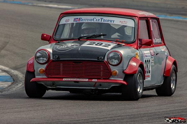 Kampf der Zwerge - Preis der Stadt Stuttgart 2018 - British Car Tropy- Austin Mini Cooper - Pierre van Cleemputte