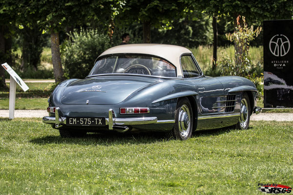 Mercedes 300 SL - Chantilly Arts & Elegance Richard Mille 2019