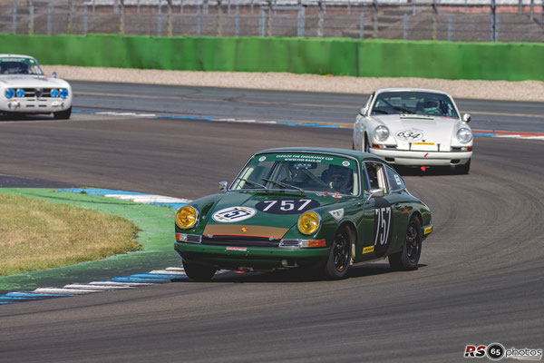 Porsche 911 - Jürgen Rudolph - Dunlop Historic Endurance Cup - Preis der Stadt Stuttgart 2020 - Hockenheimring