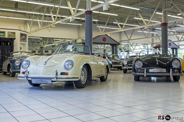 Porsche 356 A 1600 S Convertible D / Auto-Salon-Singen