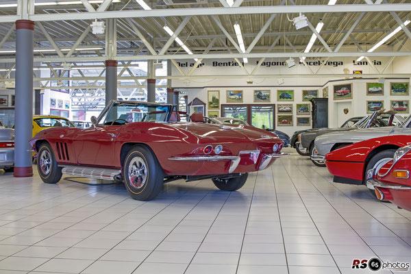 Corvette C2 Sting Ray Cabrio / Auto-Salon-Singen