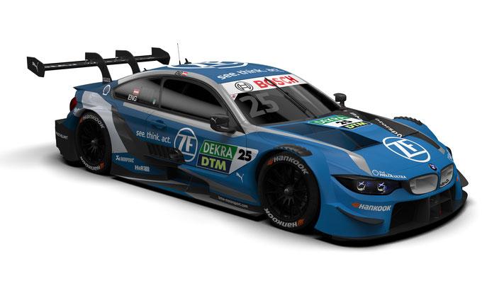 BMW M Motorsport, 2020 DTM Season, #25 ZF BMW M4 DTM, BMW Works Driver Philipp Eng (AUT)