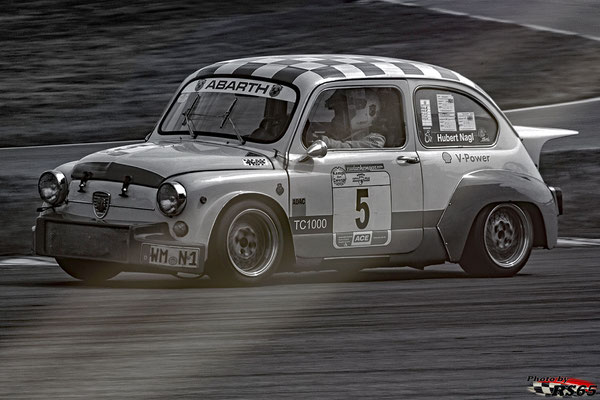 Fiat Abarth 1000 TC - Hubert Nagel - Hockenheimring 2018