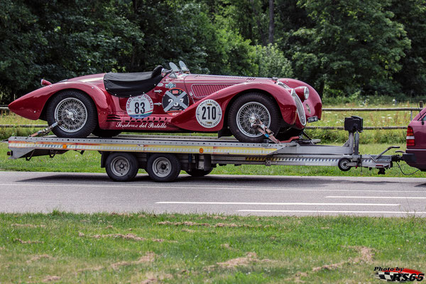 Alfa Romeo 6C2500 Supersport Corsa - Solitude Revival 2019