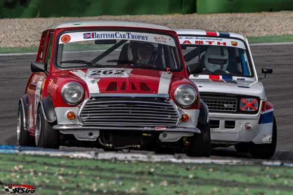 Kampf der Zwerge - Preis der Stadt Stuttgart 2018 - British Car Tropy - Mini Cooper - Maik Draut