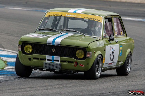 Kampf der Zwerge - Preis der Stadt Stuttgart 2018 - 1300 Histo Cup - Fiat 128 Rally - Ingo Leibrich