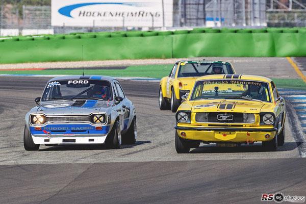 Ford Escort MK1 RS1600 - Heinz Schmersal - HTGT um die Dunlop-Trophy - Preis der Stadt Stuttgart 2020 - Hockenheimring