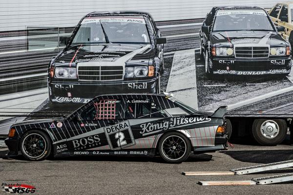 Mercedes 190-Arjan Luttikhuis-VFV GLPpro-Preis der Stadt Stuttgart 2019-Hockenheimring