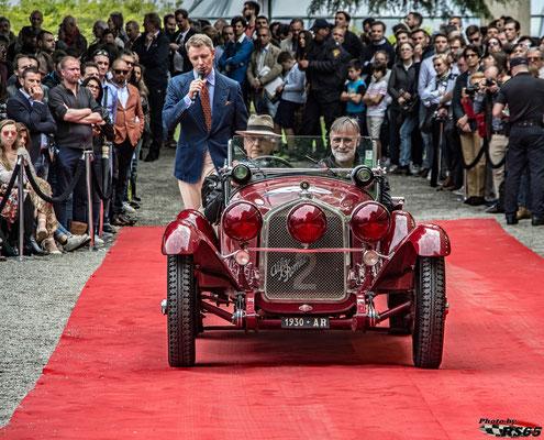 Alfa Romeo 6C 1750 Gran Sport - Concorso D'Eleganza Villa D'Este 2019