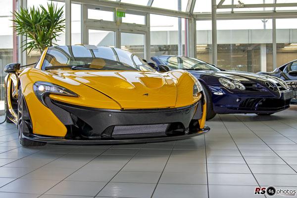 McLaren P1 / Auto-Salon-Singen