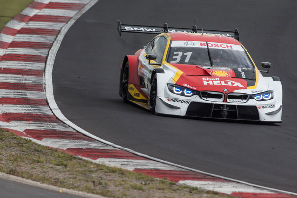 Nürburgring (GER), 8th to 11th June 2020. BMW M Motorsport, DTM test days. BMW works driver Sheldon van der Linde (RSA), Shell BMW M4 DTM
