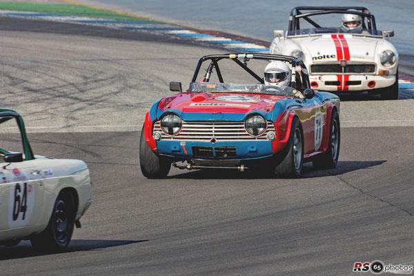 Triumph TR4A - Marcel Van Mulders - Triumph Competition & British HTGT - Preis der Stadt Stuttgart 2020 - Hockenheimring