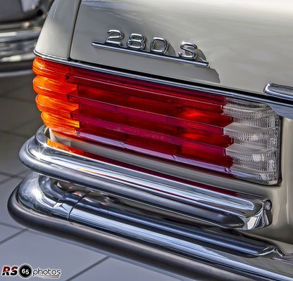 Mercedes-Benz 280 S Limousine / Auto-Salon-Singen