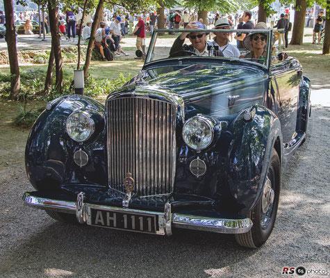 Bentley MK VI - Concorso d'Eleganza Villa d'Este
