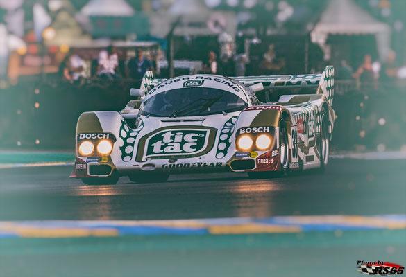 Porsche 962 C - Group C Racing - Le Mans Classic 2018