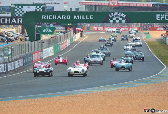 Grid 2 - Le Mans Classic 2018