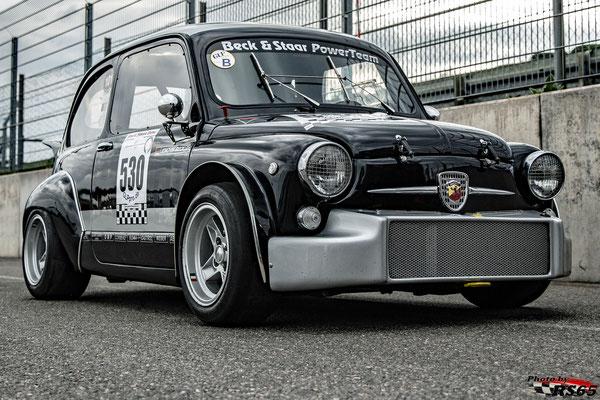 Fiat Abarth 1000TC-Joachim Beck-VFV GLPpro-Preis der Stadt Stuttgart 2019-Hockenheimring