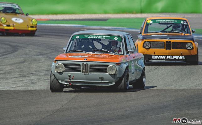 BMW 2002 - Carl Seher - HTGT um die Dunlop-Trophy - Preis der Stadt Stuttgart 2020 - Hockenheimring