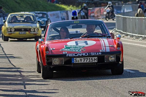 Porsche 914/6 GT Sicherheitsstaffel - Rossfeldrennen 2018