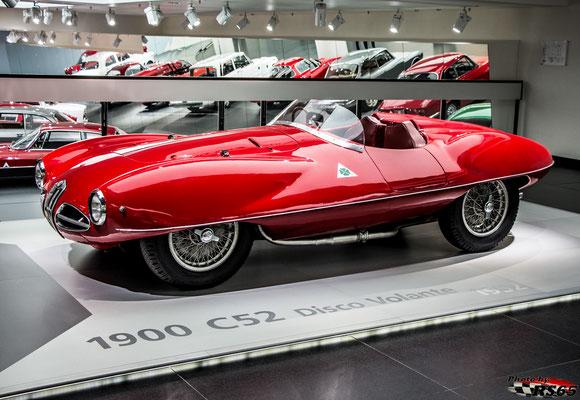 Alfa Romeo 1900 C52 Disco Volante - Alfa Romeo Museum
