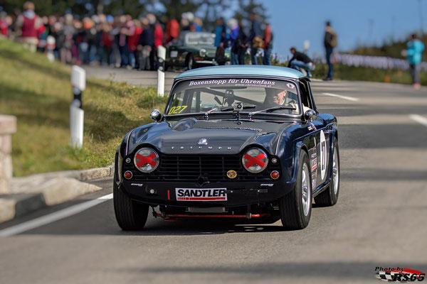 Triumph TR 4 - Rossfeldrennen 2018