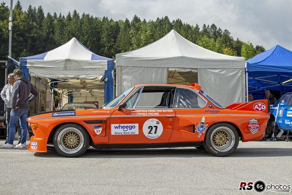 BMW 3.0 CSL - Leopold Fischer - Histo Cup - Bosch Race - Salzburgring 2021