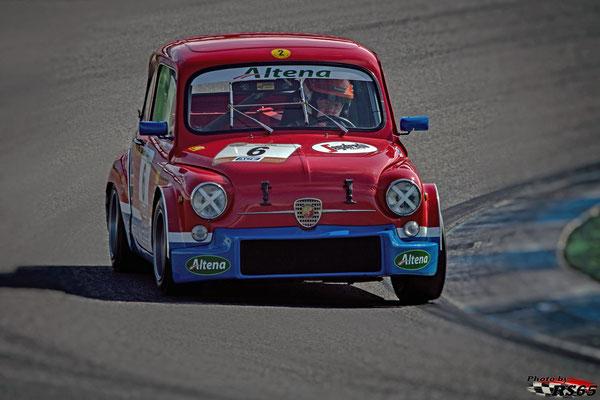 Fiat Abarth 1000 TC - Joop Schouten - Hockenheimring 2018