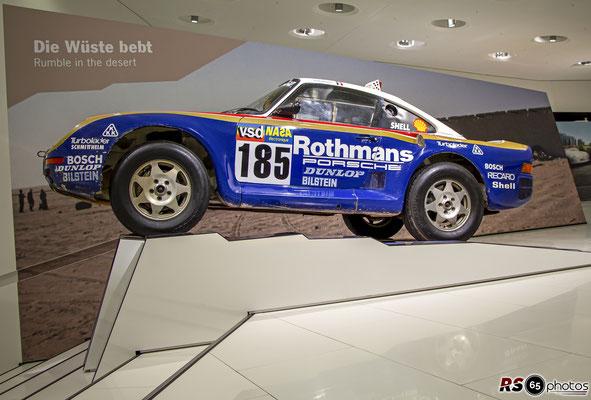 Porsche 959 Paris/Dakar - Porsche Museum