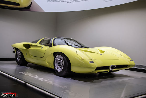 Alfa Romeo 33/2 Coupe Speciale - Alfa Romeo Museum
