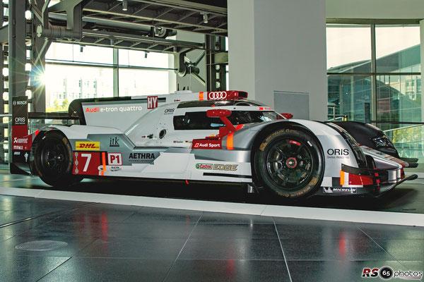 Audi R18 e-tron quattro - 40 Jahre Audi quattro