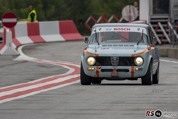 Alfa Romeo Giulia 1600 Super - Wolfgang Kriegl - Histo Cup - Bosch Race - Salzburgring 2021