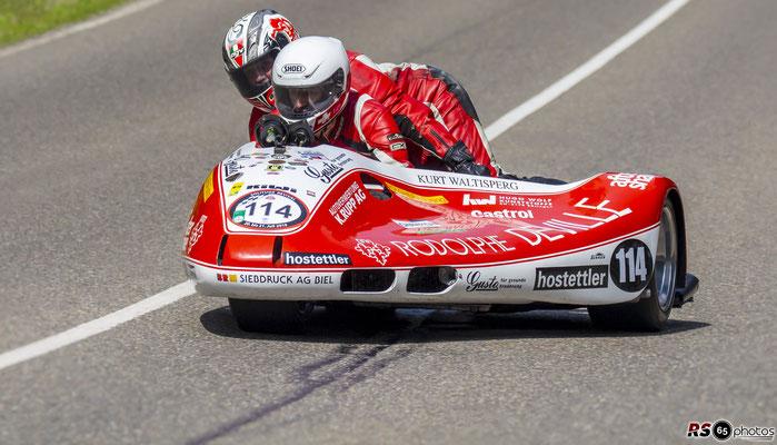 Schmied Yamaha GP Sidecar - Peter Schwegler - Solitude Revival 2019