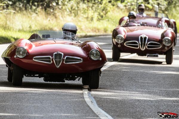 Alfa Romeo Disco Volante - Solitude Revival 2019