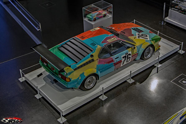 BMW M1 - Andy Warhol 1979
