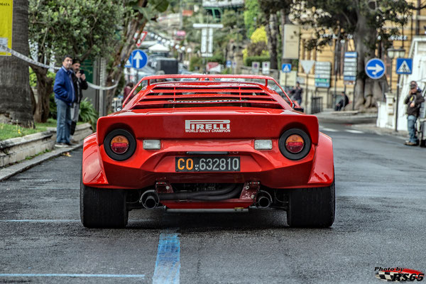 Lancia Stratos World Meeting 2019 - Sanremo Italien