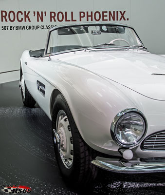 Elvis Presley BMW 507 Roadster
