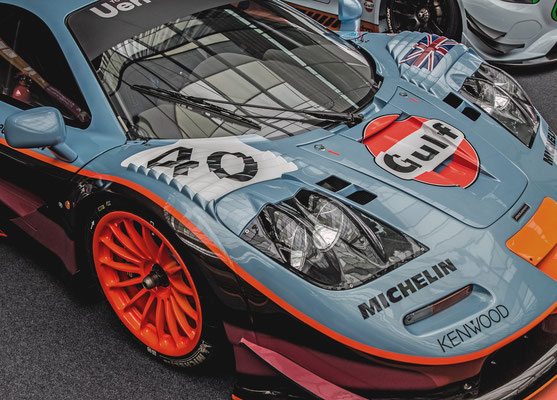 McLaren GTR F1 Longtail - ROFGO Gulf Heritage Collection