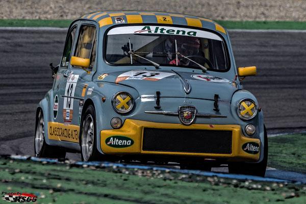 Fiat Abarth 1000 TC - Kampf der Zwerge - Hockenheimring 2018