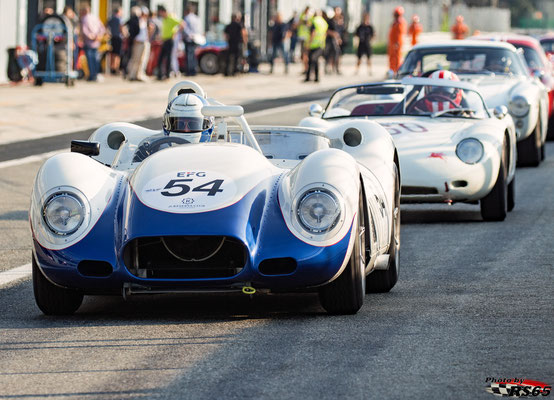 Lister Chevrolet Knobbly - Monza Historic 2019 - Peter Auto